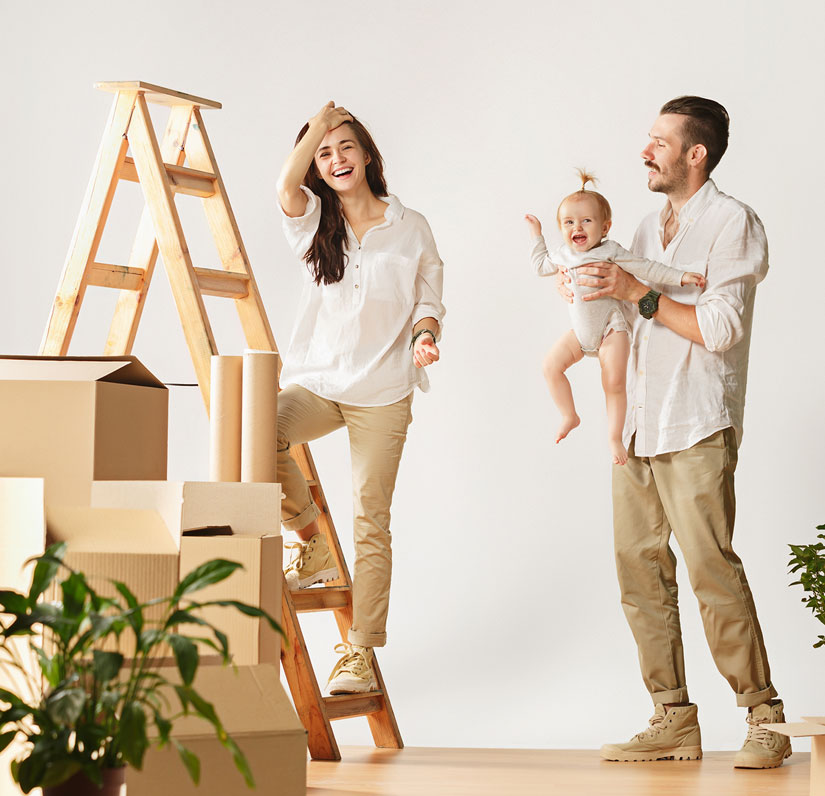 Moving house storage in London